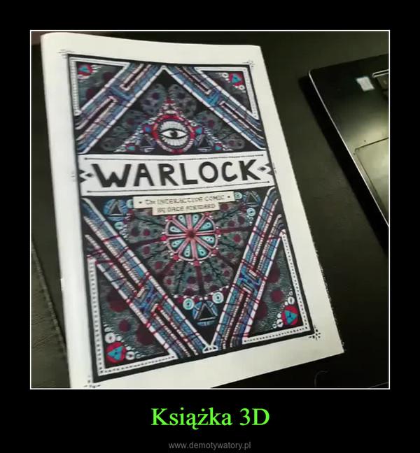 Książka 3D –