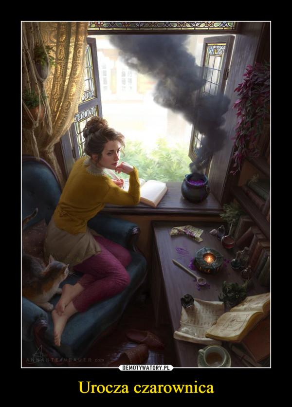 Urocza czarownica –