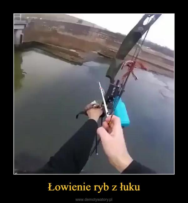 Łowienie ryb z łuku –
