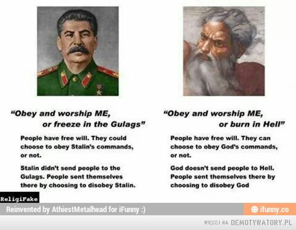 Stalin vs. God –