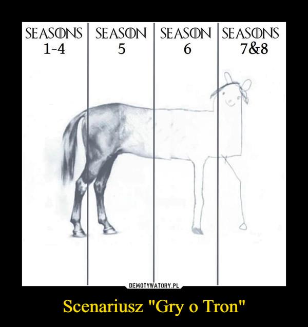 """Scenariusz """"Gry o Tron"""" –"""