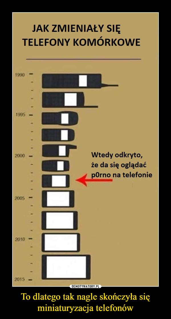 To dlatego tak nagle skończyła się miniaturyzacja telefonów –