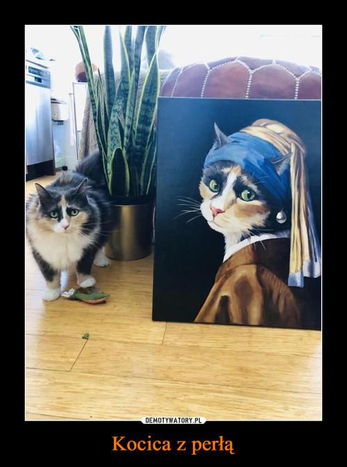 Kocica z perłą
