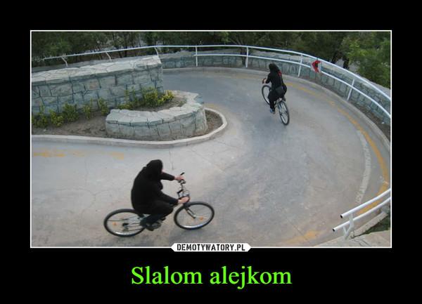 Slalom alejkom –
