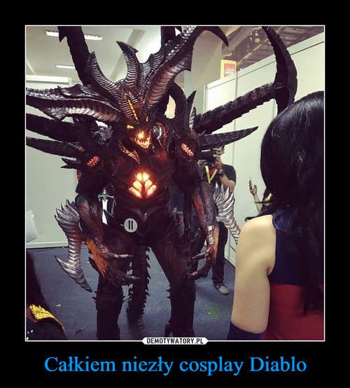 Całkiem niezły cosplay Diablo