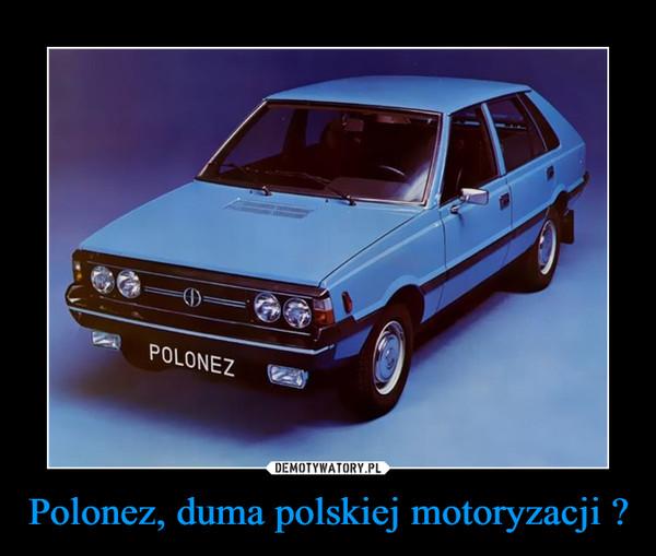 Polonez, duma polskiej motoryzacji ? –
