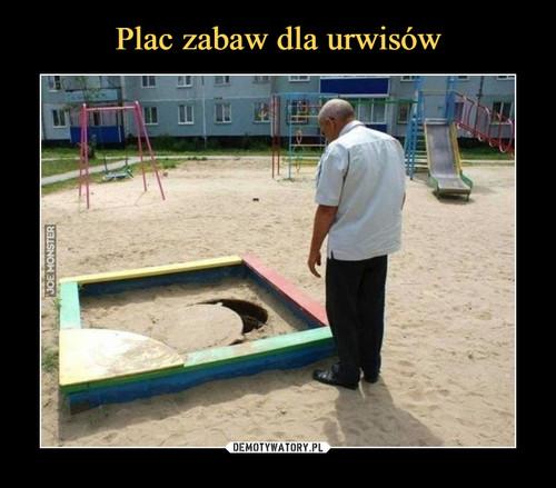 Plac zabaw dla urwisów