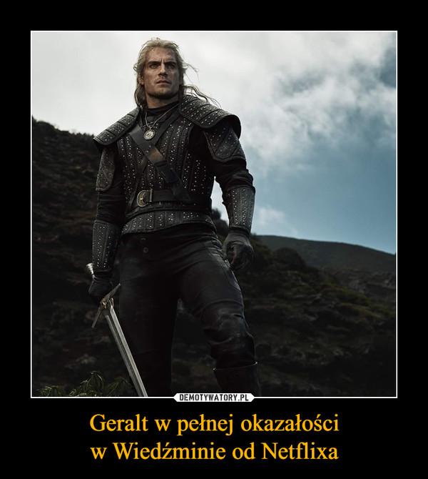 Geralt w pełnej okazałościw Wiedźminie od Netflixa –