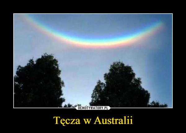 Tęcza w Australii –