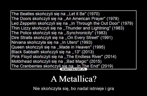 A Metallica?