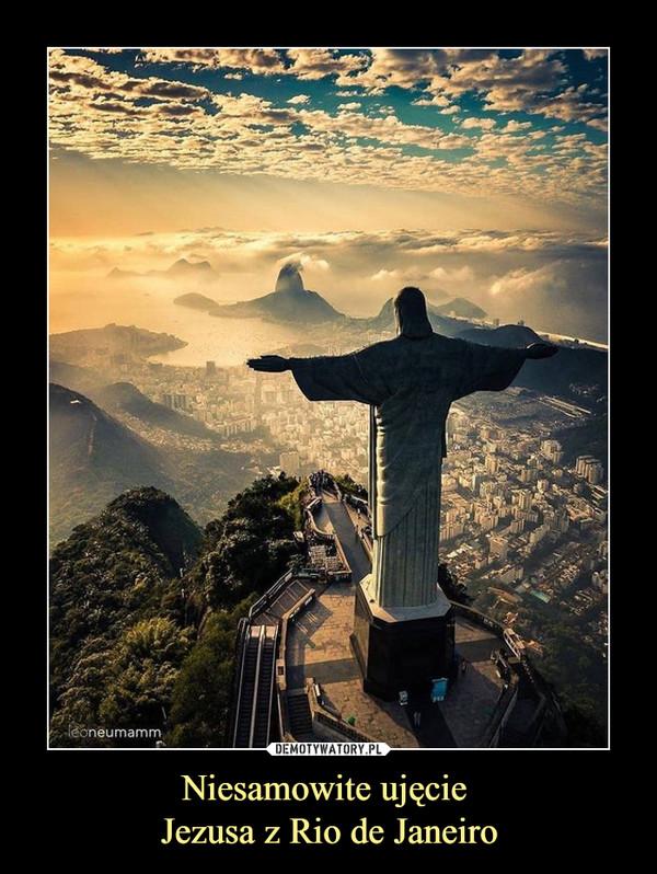 Niesamowite ujęcie Jezusa z Rio de Janeiro –