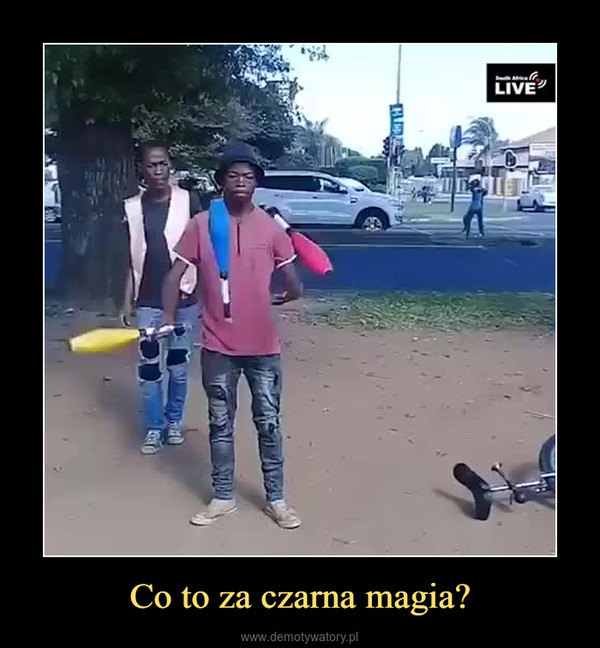 Co to za czarna magia? –
