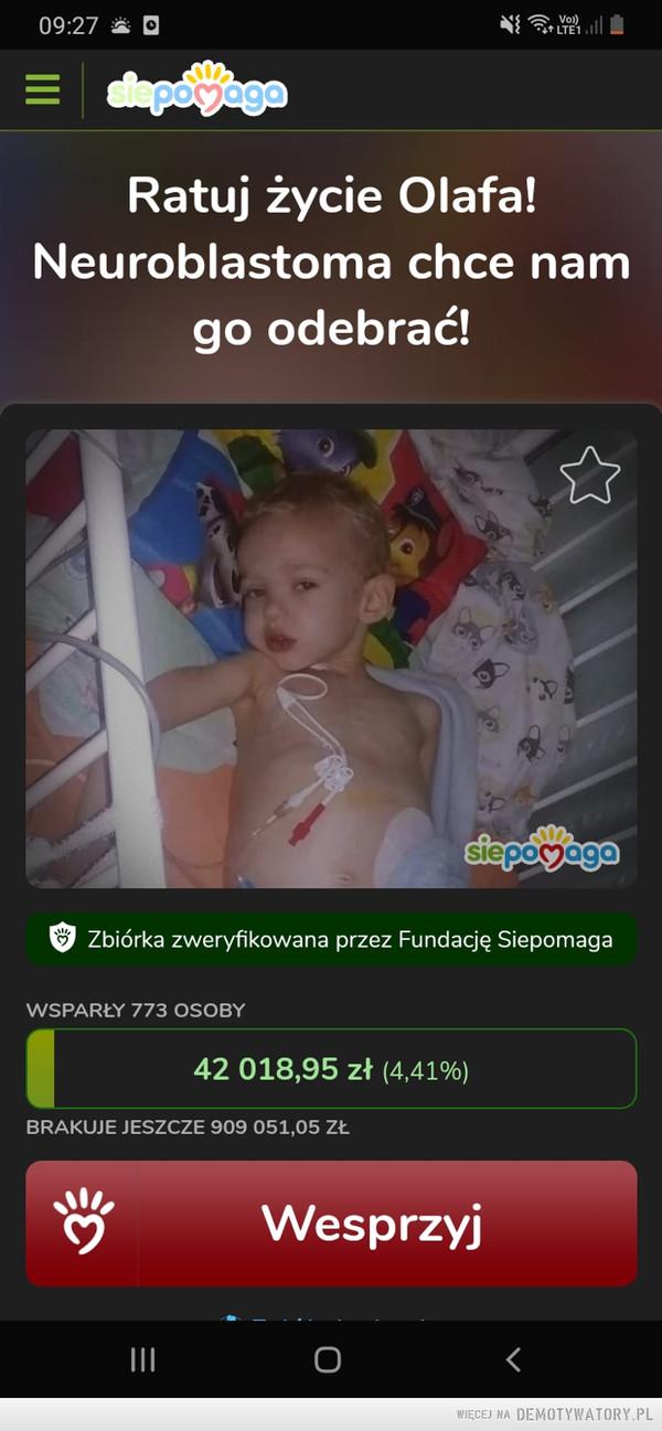 Pomóżhttps://www.siepomaga.pl/olaf – https://www.siepomaga.pl/olaf