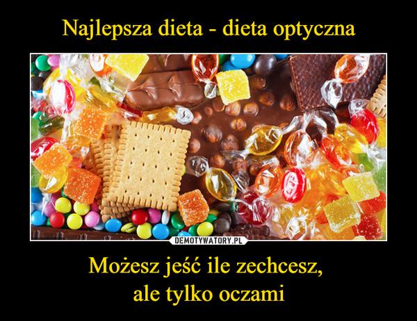 Możesz jeść ile zechcesz, ale tylko oczami –