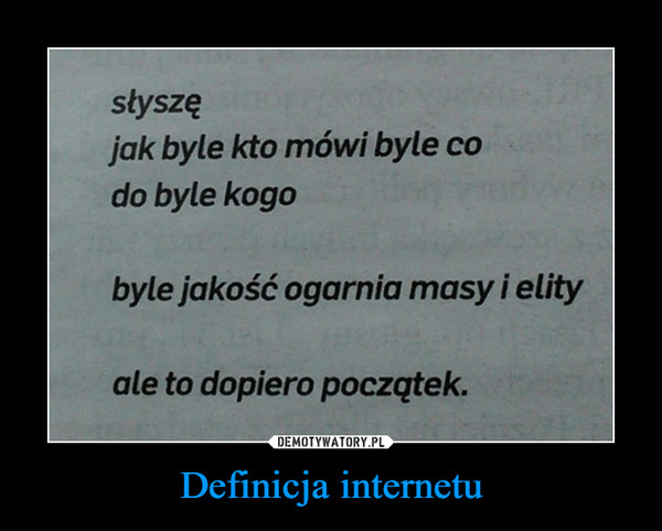 Definicja internetu –