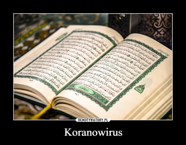 Koranowirus –