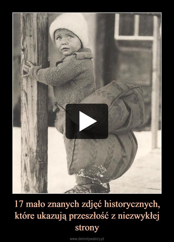 17 mało znanych zdjęć historycznych, które ukazują przeszłość z niezwykłej strony –
