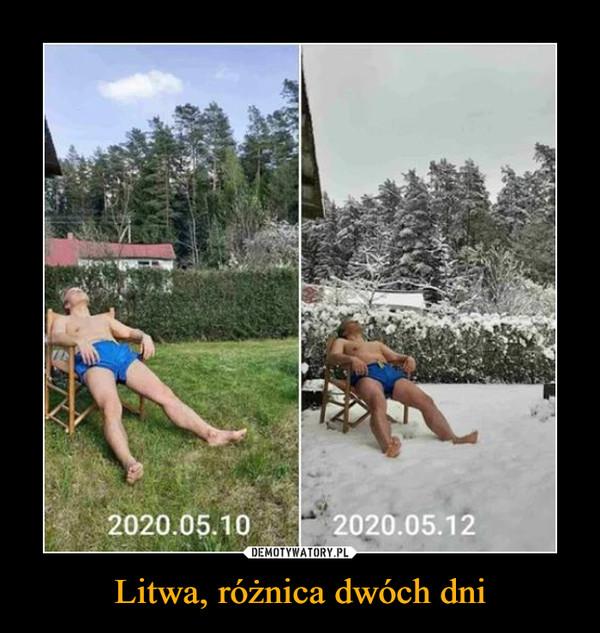 Litwa, różnica dwóch dni –