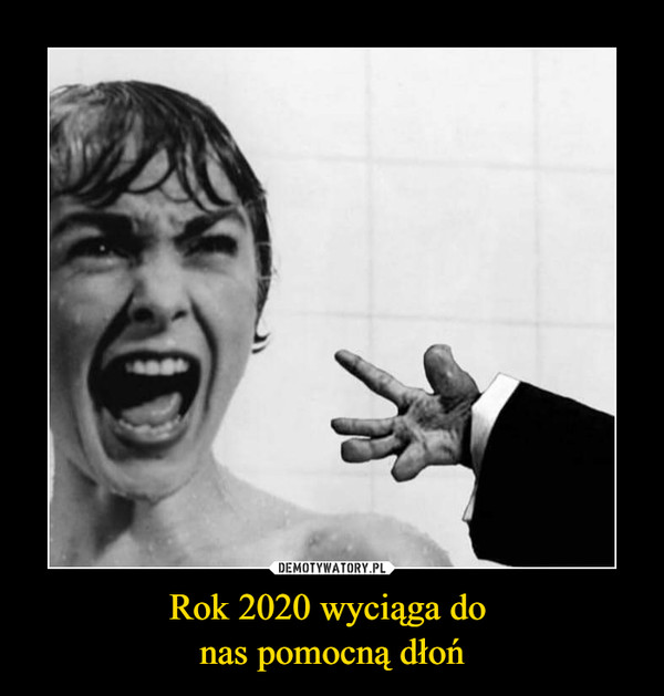 Rok 2020 wyciąga do nas pomocną dłoń –