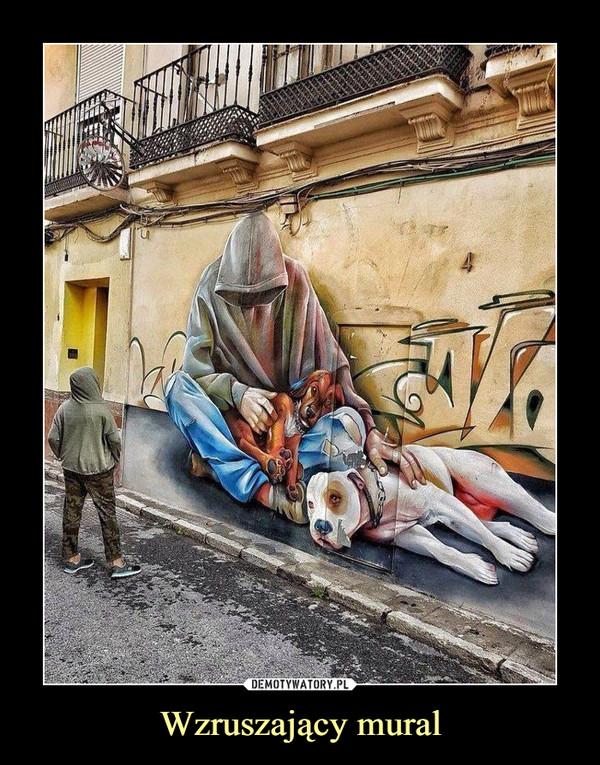 Wzruszający mural –