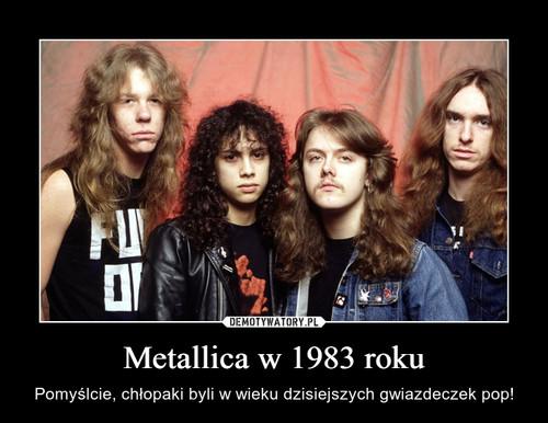 Metallica w 1983 roku