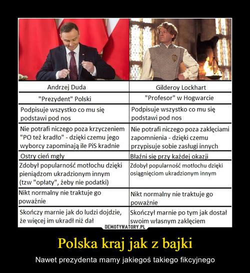 Polska kraj jak z bajki