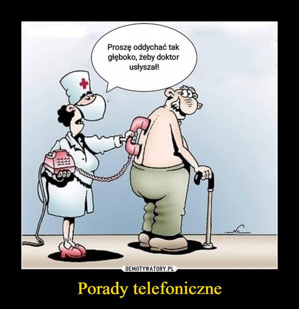 Porady telefoniczne