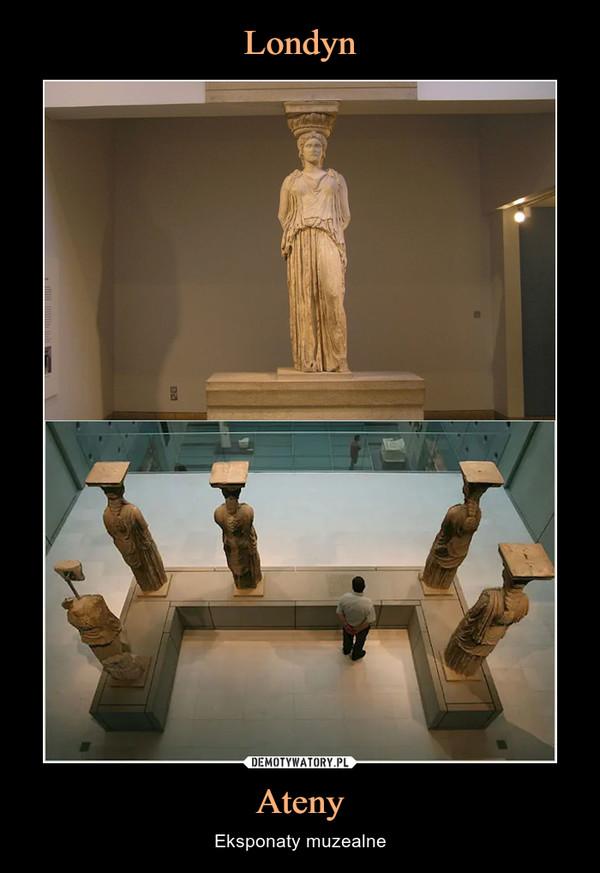 Ateny – Eksponaty muzealne