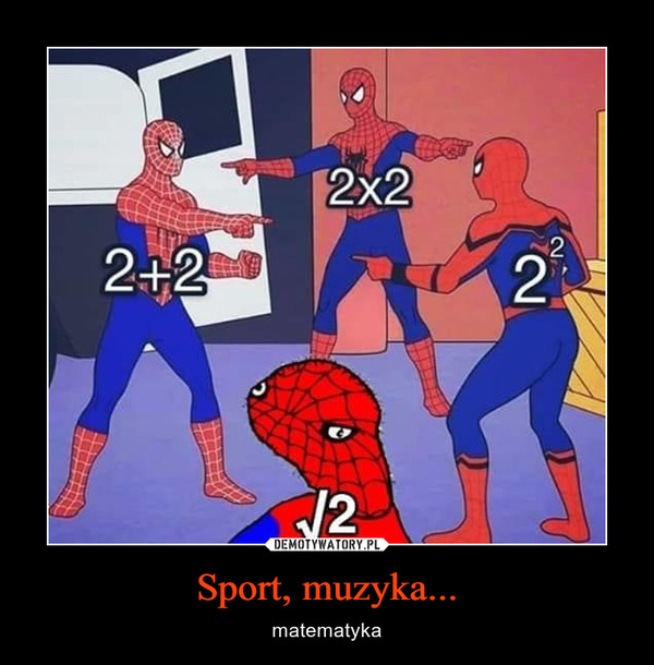 Sport, muzyka... – matematyka