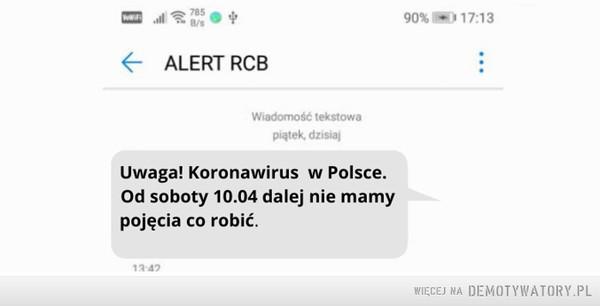 Już wkrótce kolejny komunikat RCB –