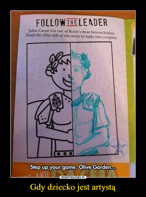 Gdy dziecko jest artystą