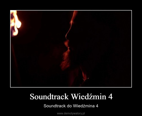 Soundtrack Wiedźmin 4 – Soundtrack do Wiedźmina 4