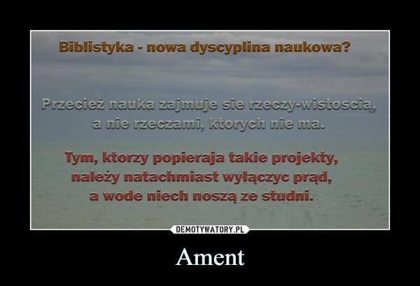 Ament –
