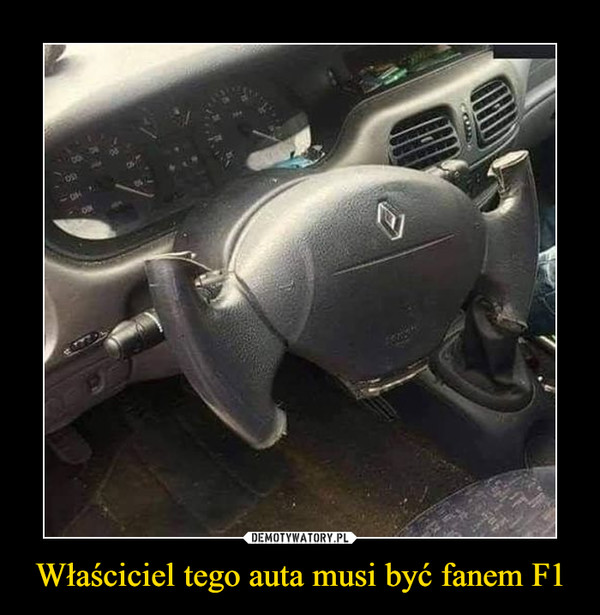 Właściciel tego auta musi być fanem F1 –