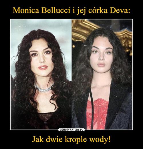 Monica Bellucci i jej córka Deva: Jak dwie krople wody!