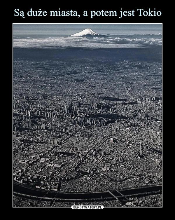 Są duże miasta, a potem jest Tokio