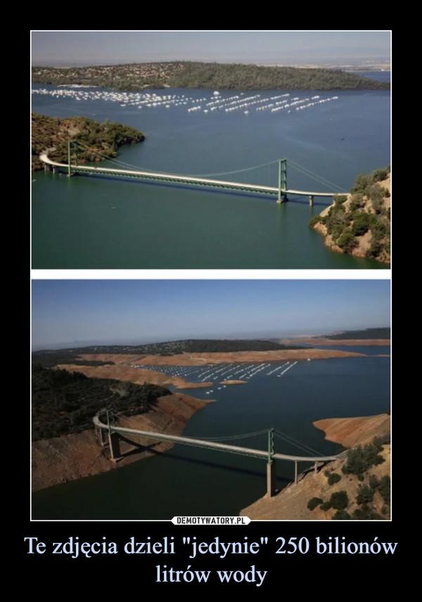 """Te zdjęcia dzieli """"jedynie"""" 250 bilionów litrów wody –"""