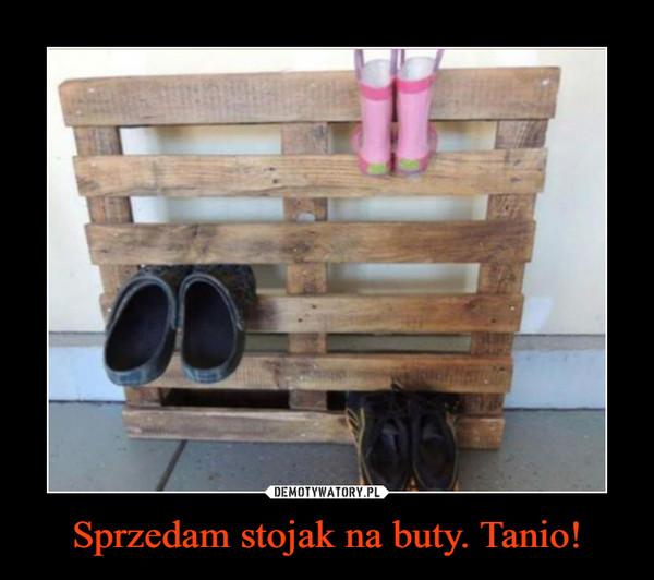 Sprzedam stojak na buty. Tanio! –